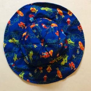 Wee wave swimming sun hat size 13-22 lbs